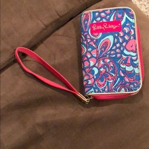 Lily Pulitzer wristlet- NEW